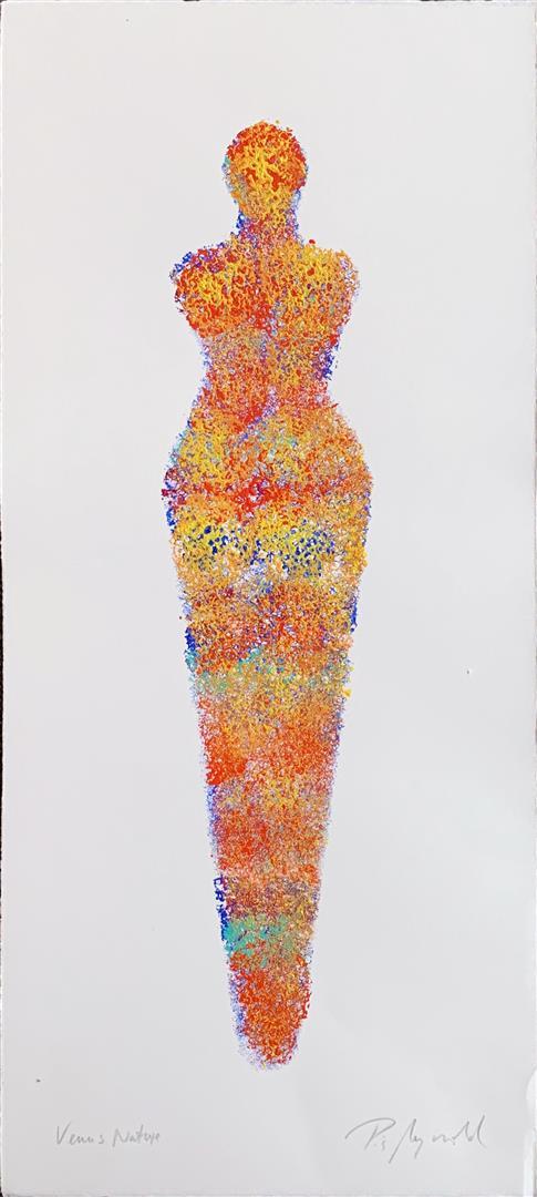 Pia Myrvold: Nature Akryl på papir (50x20 cm) kr 4400 mr