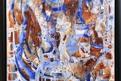 Elena Vorobyeva: Fantasi I Oljemaleri (30x30 cm) kr  5000 mr