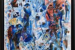 Elena Vorobyeva: Fantasi II Oljemaleri (30x30 cm) kr 5000 mr