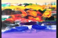 Jan Kristoffersen: Jærlandskap II Akrylmaleri (50x50 cm) kr 4800 mr