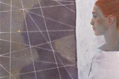Julia Mordvinova Gilje: Meg og min skygge 1 Oljemaleri (60x70 cm) kr 8000 ur
