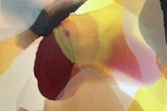Annette Bryne Farger og fly II Akrylmaleri (50x50 cm) kr 5000