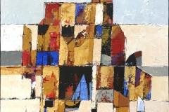 Bjørn-Chr. Røed Holmen Akrylmaleri (60x60 cm) kr 6800