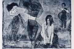 Bethoven Family Etsning (48x66 cm) kr 4200 ur