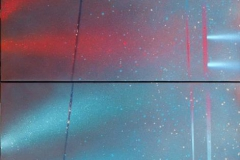 Lystrapp Akrylmaleri (2 x 50x70 cm) kr 8500