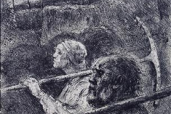 Markens Groede Litografi 49x31 cm 4000,-kr u.r.