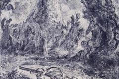 Pan II Litografi 47x33 cm 4000,-kr u.r.
