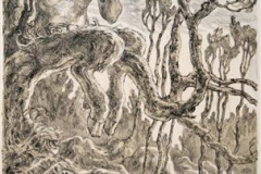 Pan Litografi 44x28 cm 3500,-kr u.r.
