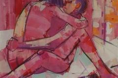 Par I Akrylmaleri (100x100 cm) kr 15000 ur