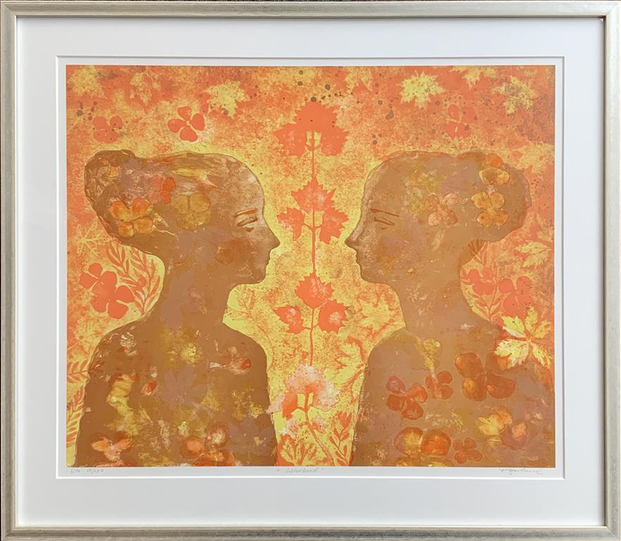 Sisterhood Litografi (56x68 cm) kr 4800 mr