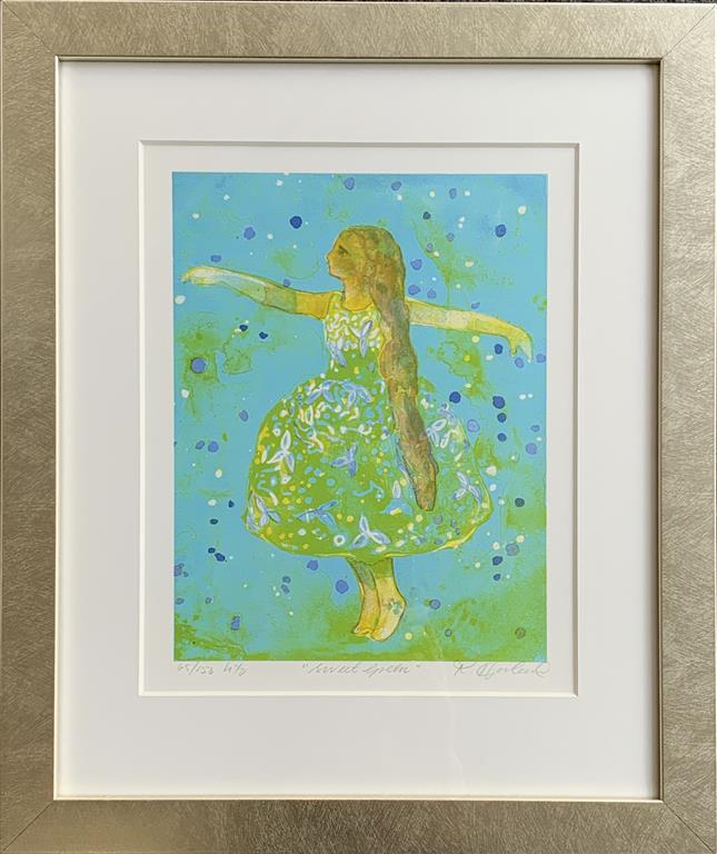 Sweet Green Litografi (27x22 cm) kr 2200 mr