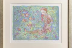 Peace Litografi (25x32 cm) kr 1900 kr