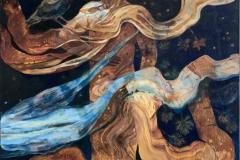 Visitor Oljemaleri (150x100 cm) kr 26000 ur