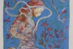Winter blossom Litografi 30x21 cm 900 ur
