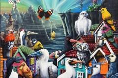 Prekestolen Akrylmaleri (60x75 cm) kr 12000 ur