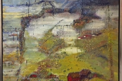 Sagaøens poesi Oljemaleri (80x80 cm) kr 12000 mr