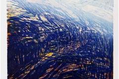 Tilbake til fjellet Linosnitt 53,5x41,5 cm 3000 ur