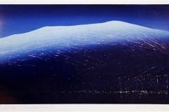 Vinternattslengsel I Linosnitt 35,5x62 cm 2800 ur