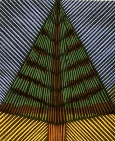 Hoest Tresnitt 17,5x14,5 cm 900,-kr u.r.