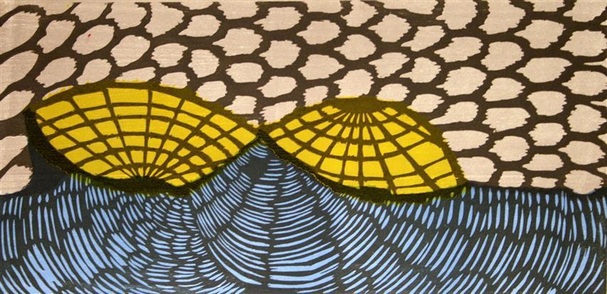 Ljuskallan Tresnitt 16x35 cm 1000,-kr u.r.