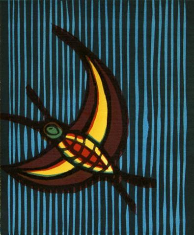 Nattsvarmaren Tresnitt 17,5x14,5 cm 900,-kr u.r.