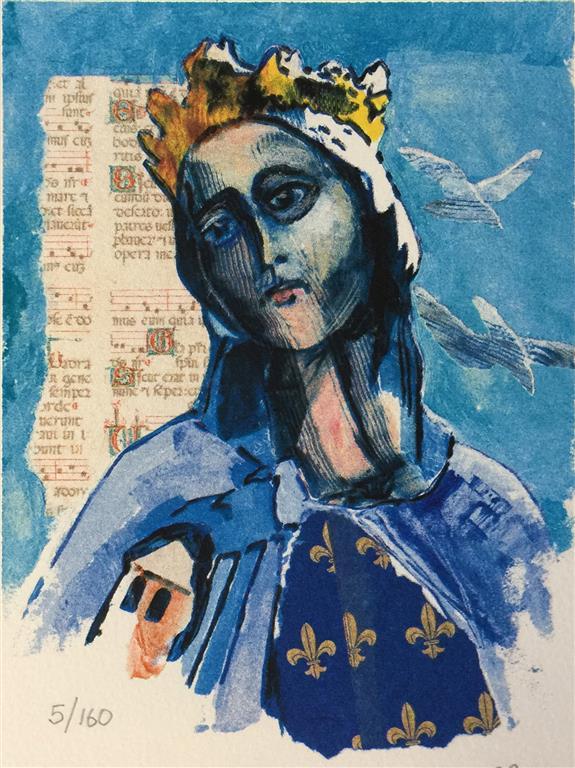 St Sunniva Serigrafi (20x15 cm) kr 800 ur