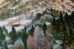 Vinterlys Litografi (30x24 cm) kr 2200 ur