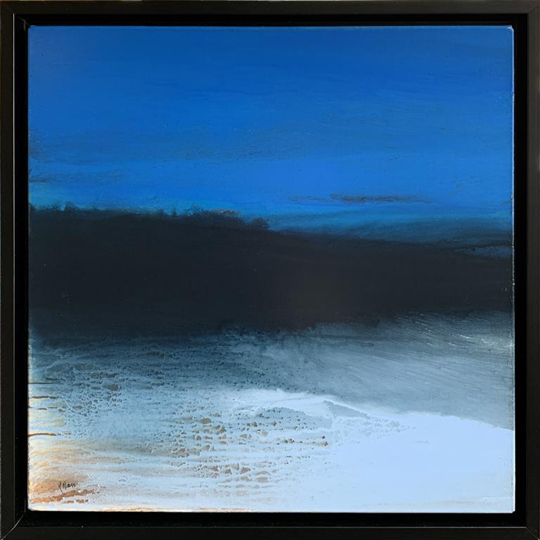 Blue Night Akrylmaleri (60x60 cm) kr 8000 mr