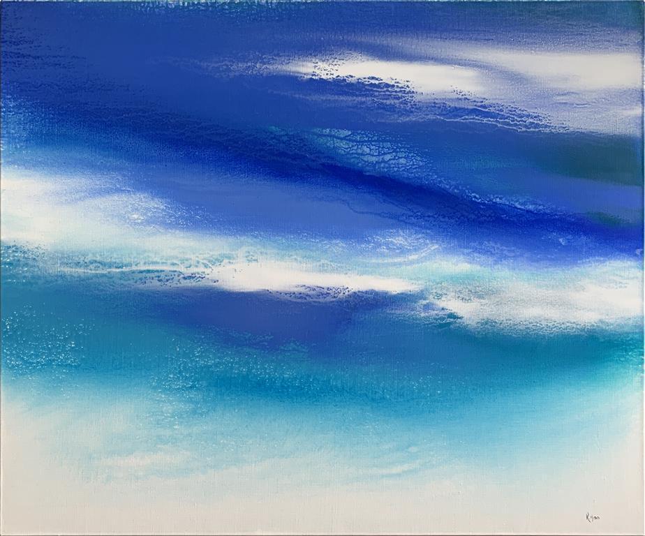 Dreaming wide awake Akrylmaleri (100x120 cm) kr 14500 ur