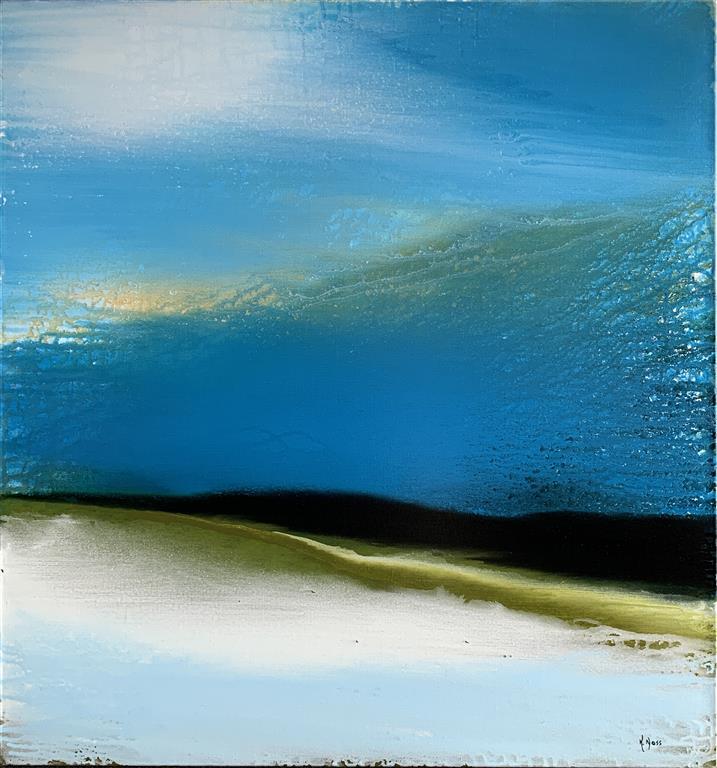 Waterless Akrylmaleri (80x80 cm) kr 9000 ur