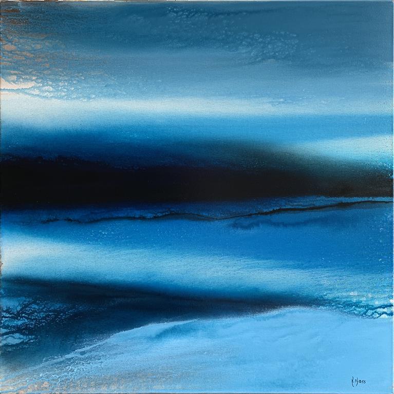 When Winter comes Akrylmaleri (70x70 cm) kr 8500 ur