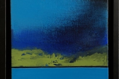 Blue Landscape 3 Akrylmaleri (30x30 cm) kr 4000 mr