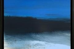 Blue Night Akrylmaleri (60x60 cm) kr 8000 mr
