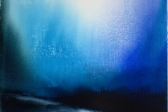 Evening Land Akrylmaleri (75x75 cm) kr 8800 ur