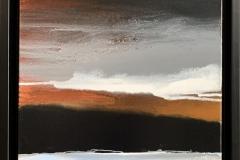 The Dark Country Akrylmaleri (40x40 cm) kr 6000 mr