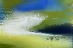 Without my Wings Akrylmaleri (90x90 cm) kr 10000 ur