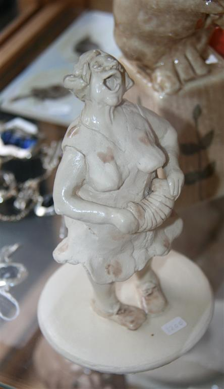 En musikant Keramikk H15 cm 1200