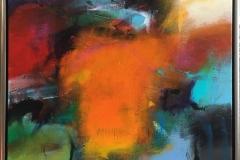Kornmod Akrylmaleri (70x60 cm) kr 7000 mr