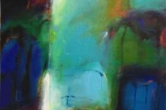 Til ettertanke Akrylmaleri (80x75 cm) kr 9000 ur