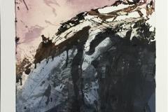 Gråfjell Etsning (79x37 cm) kr 4800 ur