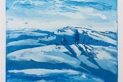 Stille stund i fjellet Etsning (30x35 cm) kr 2200 ur