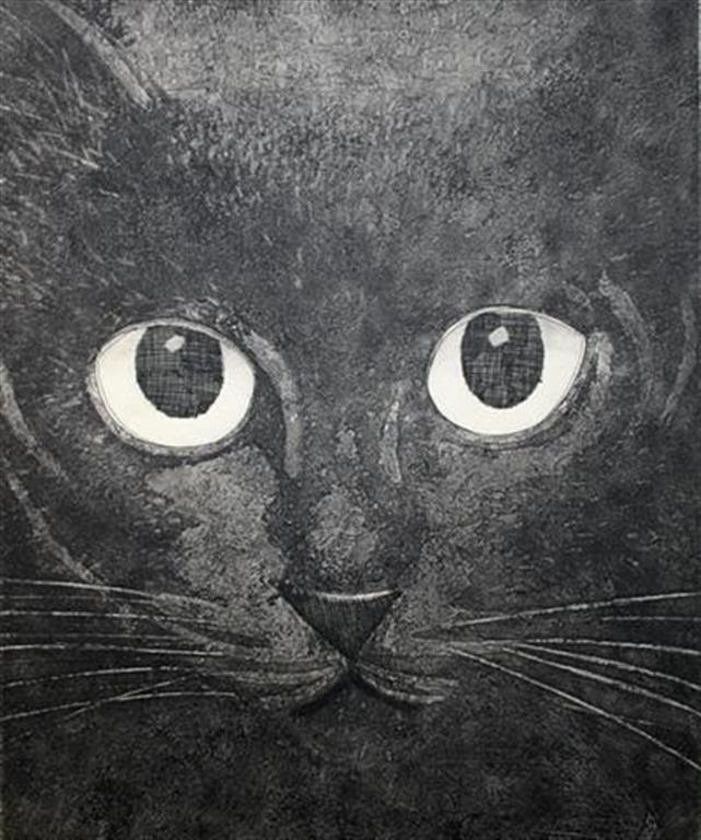 Dark Beauty Intaglio 31x25 cm 2000 ur