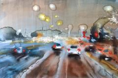 Sludd Akvarell (70x100 cm) kr 9000 ur