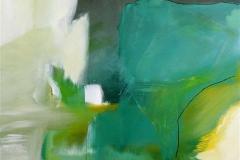 Det meditative Akrylmaleri 100x100 cm 8500,-kr m.r.