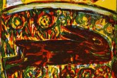 Siesta Litografi 18x14 cm 500 ur