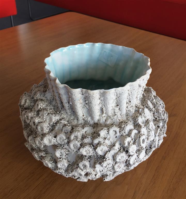 Sandstøpt form Keramikk (H16 x 20 cm) kr 1950