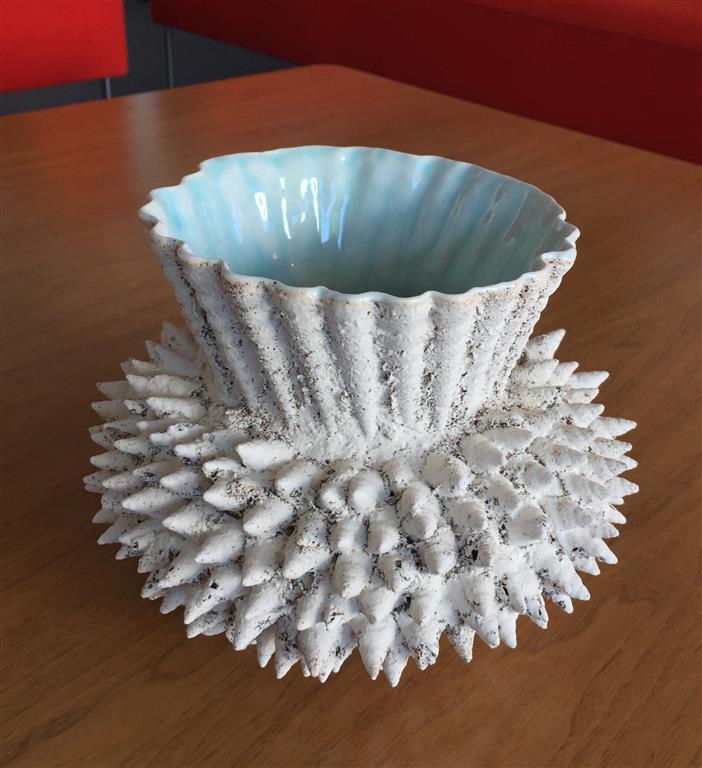 Sandstøpt form Keramikk (H16,5 x Ø20 cm) kr 1950