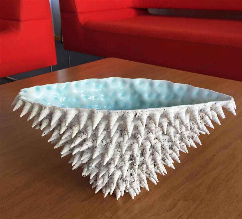 Sandstøpt form Keramikk (ca.H16,5 x B16 x L30 cm) kr 2500