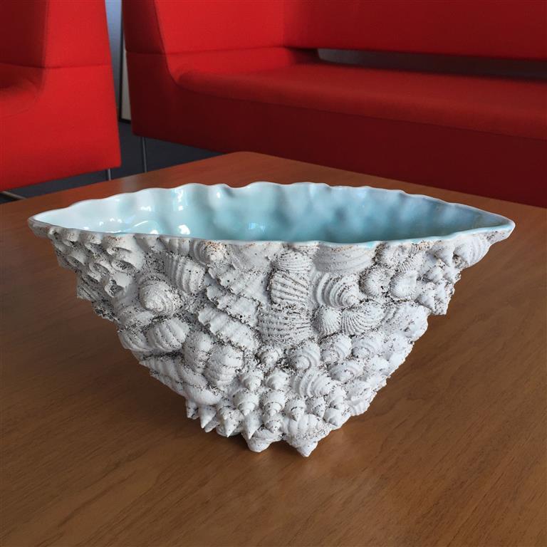 Sandstøpt form Keramikk (ca.H17 x B14 x L33 cm) kr 3500