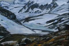 Fra Jotunheim Oljemaleri 24x29 cm 4300 mr